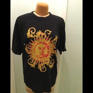 Vintage Gianni Versace Perfumi Gold Sun Tee shirt